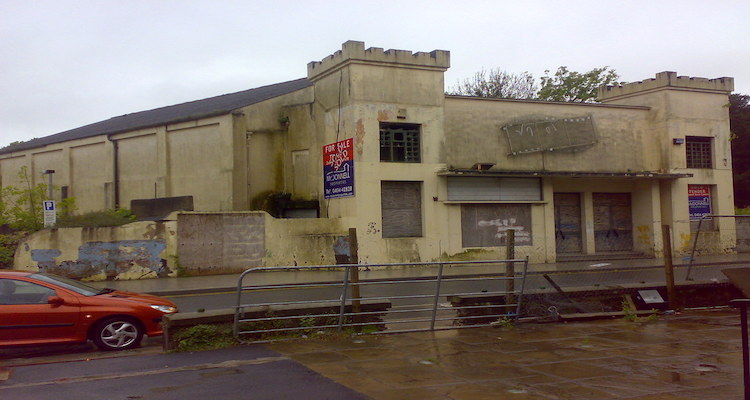 demolition of abbey cinema arklow